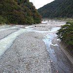 小滝川 姫川との合流点