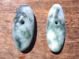 大珠 圧砕緑翡翠