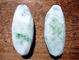 大珠 上質圧砕緑翡翠