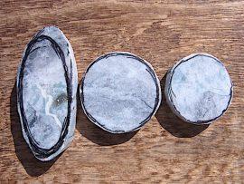 大珠 灰青色翡翠