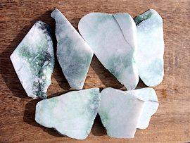 翡翠板 圧砕緑翡翠